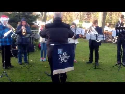 Kingsway School Band at the Gatley Christmas Festival