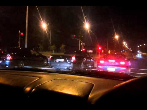Street Racing Evo Vs Rx7 Vs Ve Ute Vs Wrx Vs V8