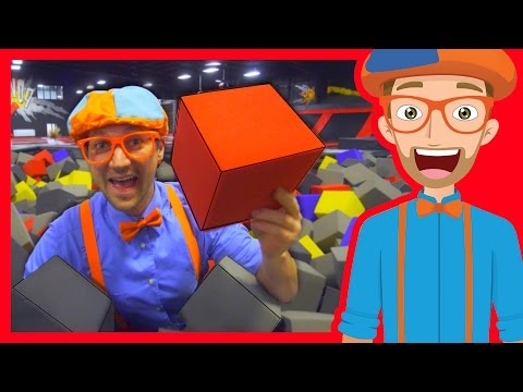 Thumbnail: The Trampoline Park with Blippi | Learn Colors and more!