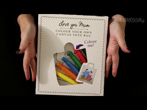 ASMR Colouring In for Mother's Day (silent, no talking)