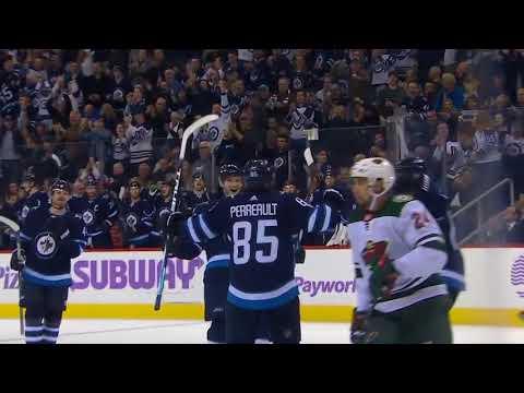 Minnesota Wild vs Winnipeg Jets - November 27, 2017 | Game Highlights | NHL 2017/18
