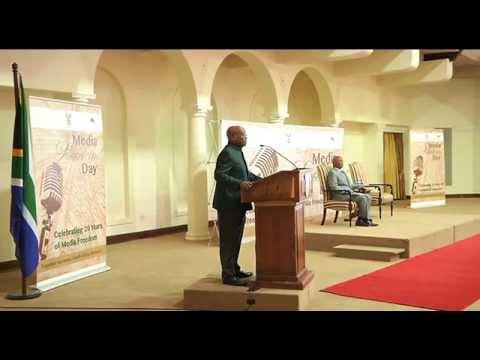 Comrade Jacob Zuma addresses the Media Freedom Day celebrations, Pretoria   19 Oct 2014