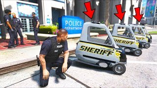 I replaced ALL cop cars with these!! (GTA 5 Mods - LSPDFR Gameplay)