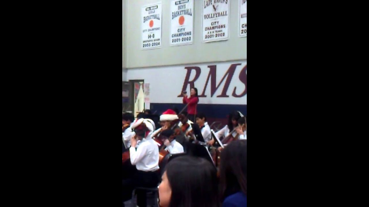 Rice Middle School Orchestra - Carol of the Bells