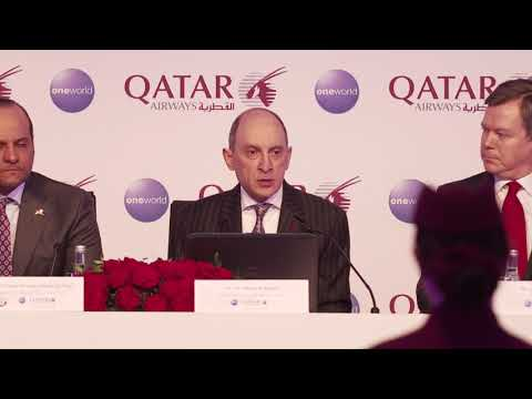 Qatar Airways GCEO at ITB Berlin 2018 Press Conference
