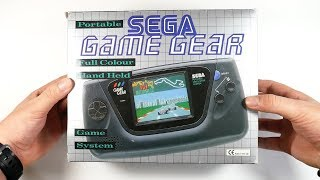 Unboxing Sega Game Gear