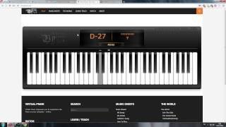 Virtual Piano - Прекрасное далеко