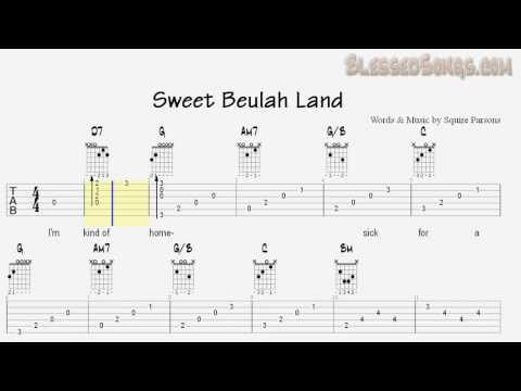 Squire Parsons - Sweet Beulah Land - Guitar Tab and Chords