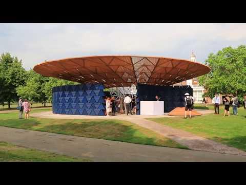 Mosaic Video Arts, Serpentine Pavilion 2017 designed by Francis Kéré