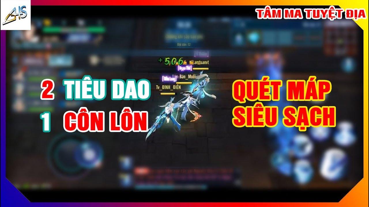 VLTK Mobile - Team 2 Tiêu Dao 1 Côn Lôn quét máp siêu sạch | Clip 29| Game Mobile