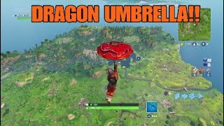 FORTNITE - COMMENT OBTENIR SECRET DRAGON PARAPLUIE !!!