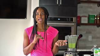 Erin Is Fitness - Tropical Green Smoothie