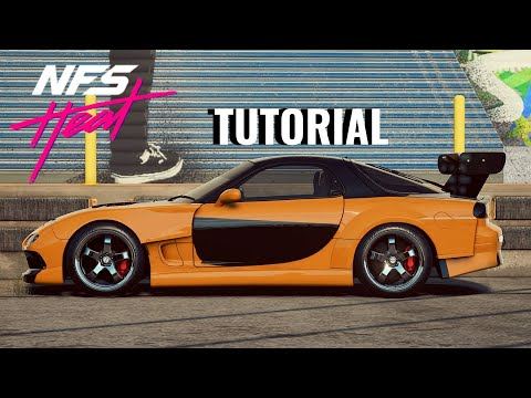 Need For Speed HEAT | Han's Mazda RX7 Build Tutorial!