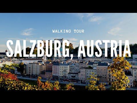 Take a walk with me to my university in Salzburg, Austria