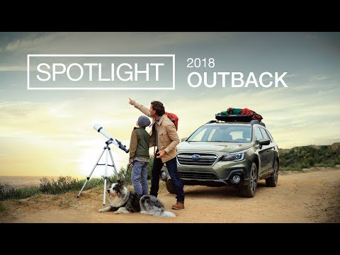 New 2018 Subaru Outback Spotlight | Explore Together