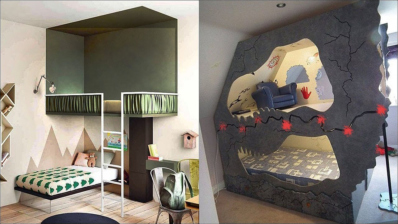 Most Unusual And Coolest Bunk Beds For Kids Youtube