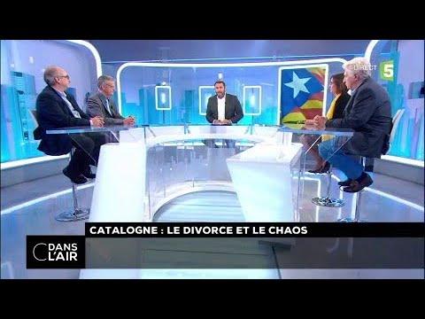 Catalogne : le divorce et le chaos #cdanslair 27.10.2017