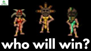 Which is the strongest AI tribe in Populous: The Beginning?