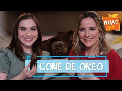 CONE TRUFADO DE OREO | Lu Ferreira e Fabíola Gouveia | Delícia de Festa com Oreo