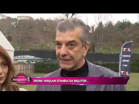 4 Mart 2017 - TV8 Magazin 8 - Türkiye Drone Ligi Haberi
