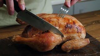 Курица нашприцованная маринадом!