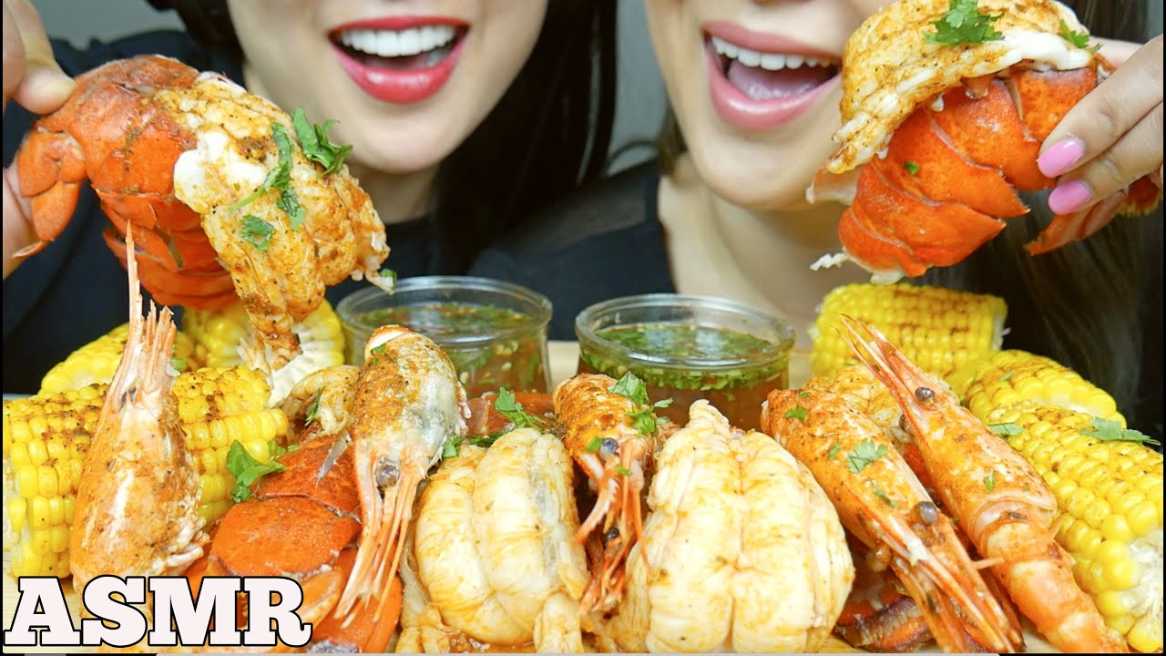 Asmr Seafood Boil Lobster Tails Spot Prawns Sister S Edition Eating Sounds No Talking Sas Asmr Youtube 3,468 likes · 9 talking about this. asmr seafood boil lobster tails spot prawns sister s edition eating sounds no talking sas asmr