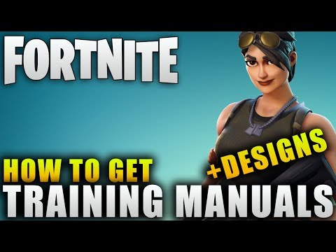 "Fortnite Guide ""How To Get Training Manuals"" Fortnite Hero Evolution Guide"