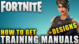 "Fortnite Guide ""How To Get Training Manuals"" Fortnite Hero Evolution Guide"