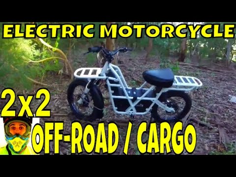 UBCO 2x2 Off-Road Electric Motorcycle - Utility quad bike replacement for Farmers