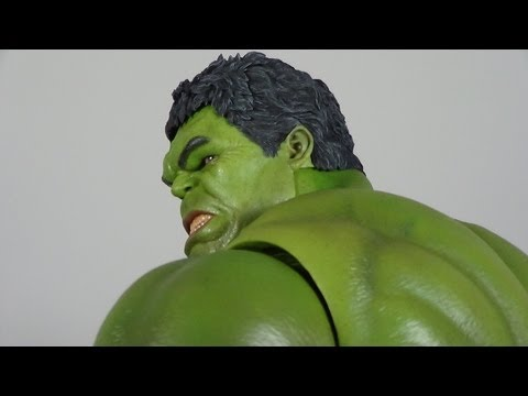 Hot Toys Hulk The Avengers Movie Masterpiece 1/6 Scale Figure Review