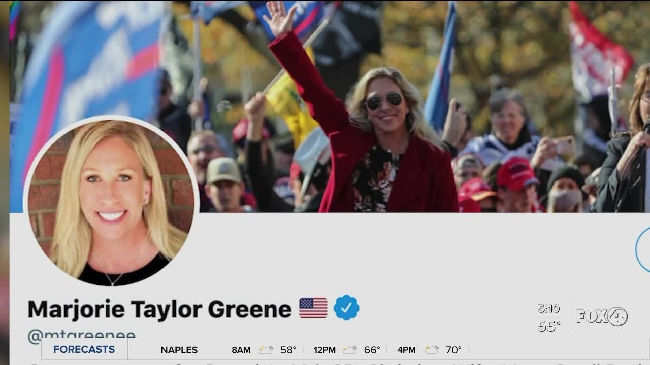 Twitter timeout for Rep. Marjorie Taylor Greene COVID tweets