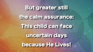 Because He Lives Instrumental