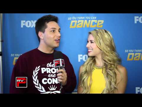 SYTYCD 10 Top 10 Allison Holker Interview