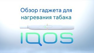 Обзор IQOS – гаджета для нагревания табака