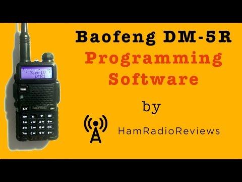 Baofeng DM-5R Programming Software