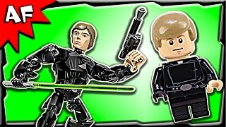 Lego Star Wars Luke Skywalker Battle Figure 75110 Stop Motion Build Review