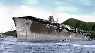 Japanese Aircraft Carriers (IJN) vessel video