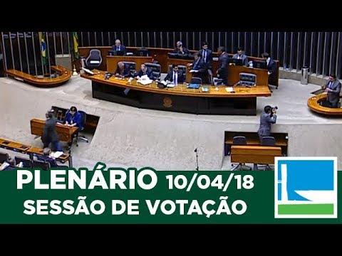 PLENÁRIO - Sessão Deliberativa - 10/04/2018 - 14:00