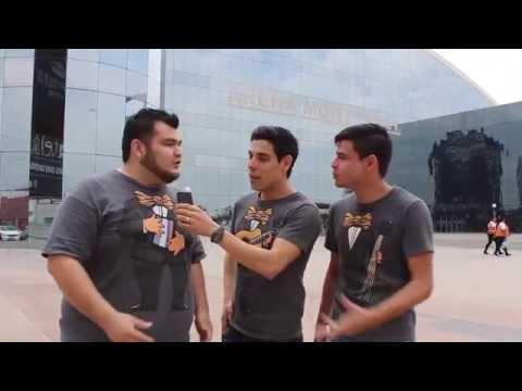 Reportando desde la Arena Monterrey - Los Tres Tristes Tigres