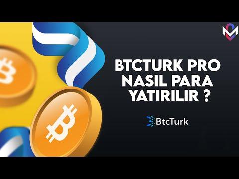 BtcTurk Pro Nasıl Para Yatırılır ?