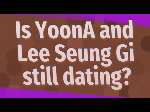 Is YoonA And Lee Seung Gi Still Dating?