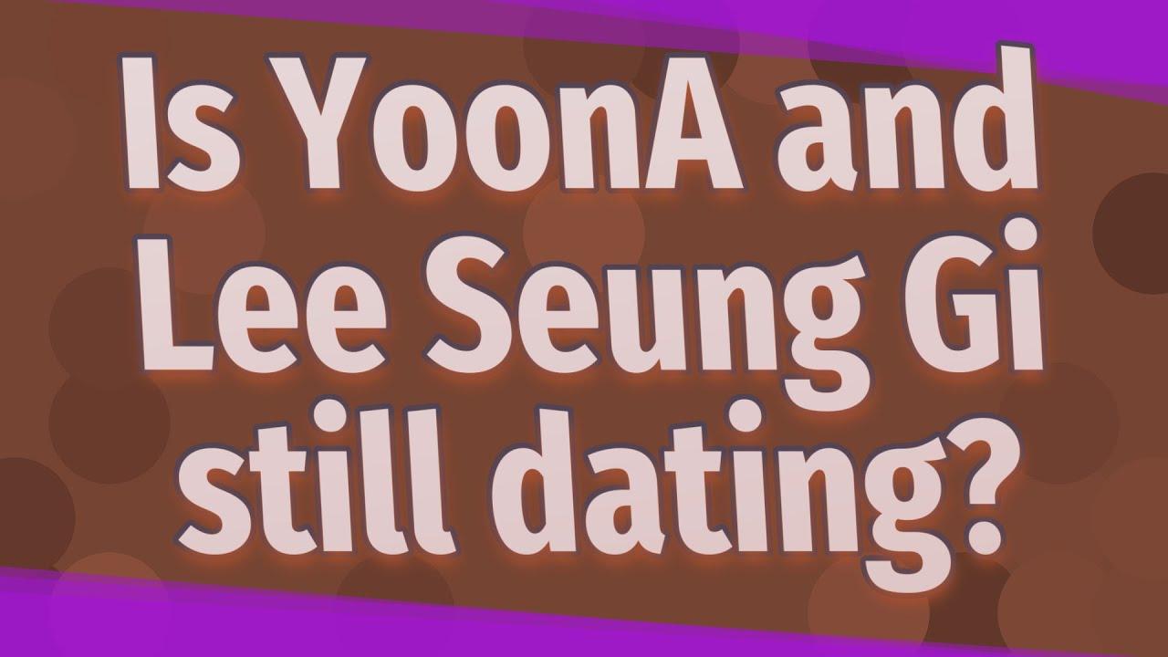lee seung gi and yoona dating youtube zdarma prescott datování