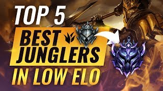 Top 5 BEST Junglers For Climbing Out Of Low Elo - League of Legends Season 9