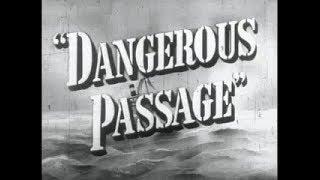 Film Noir Drama Movie - Dangerous Passage (1944)