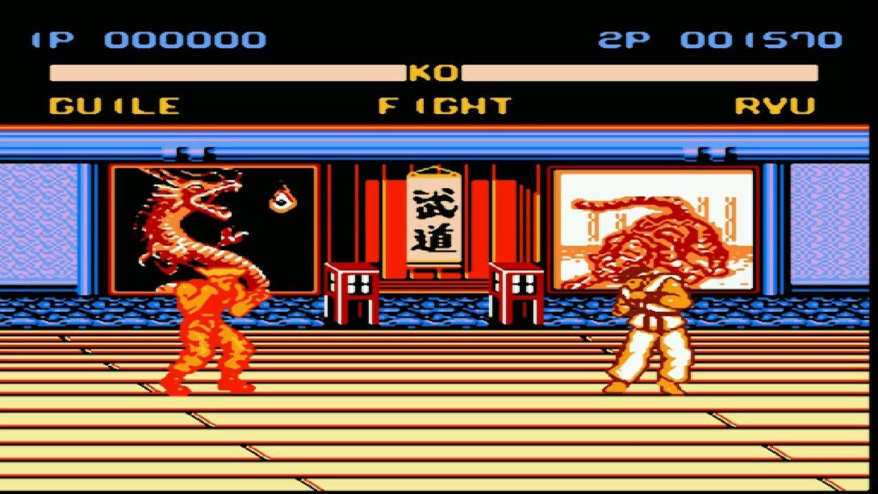 Nes Street Fighter 6 Gameplay Youtube