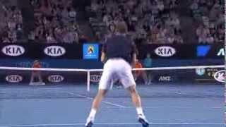 Novak Djokovic v Stanislas Wawrinka - 2013 Australian Open (Full Match Replay)