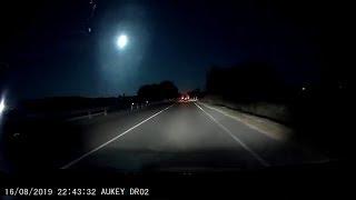 Метеор над Сардинией попал на видео