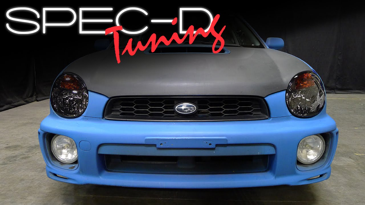 Specdtuning Installation Video 2002 2003 Subaru Impreza Oem Style Headlights You