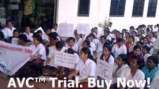 UNA Lakeshore Hosp Nurses Strike mp4