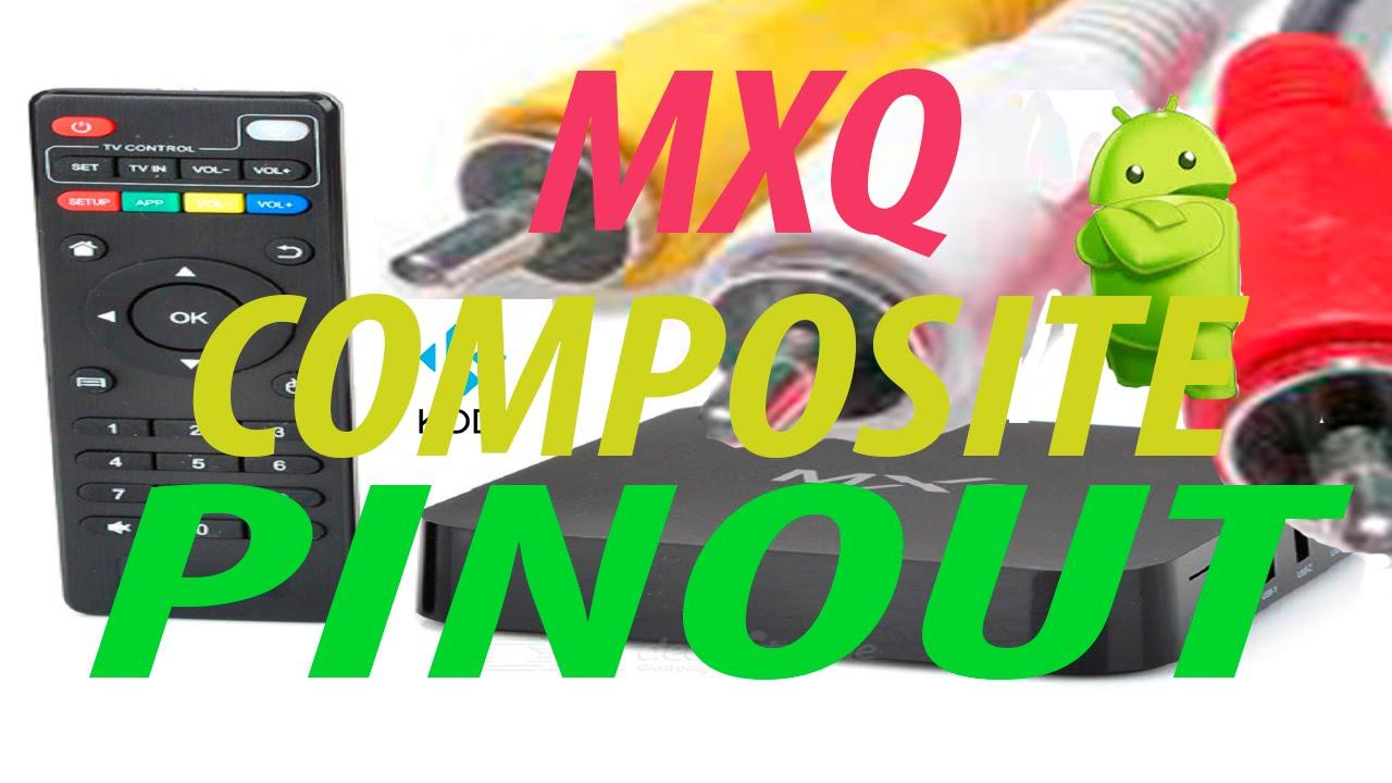 MXQ posite AV PinOut  YouTube